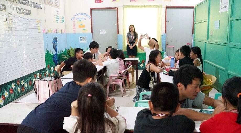 YUMECAMPの学校訪問